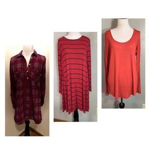 Bundle of 3 tunic/dresses